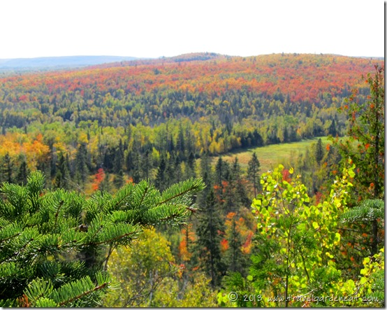 View from Section 13 overlook, Superior Hiking Trail