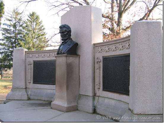 Lincoln Monument, Soldiers' National Cemetery in Gettysburg