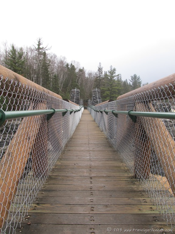 Jay Cooke State Park Swinging Bridge