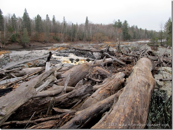Remnants of the 2012 flood, Jay Cooke State Park