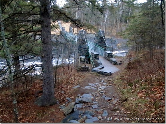 Jay Cooke State Park, Swinging Bridge