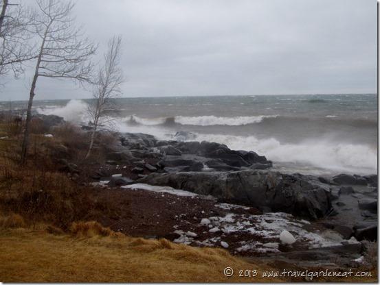 Lake Superior Spring Storm