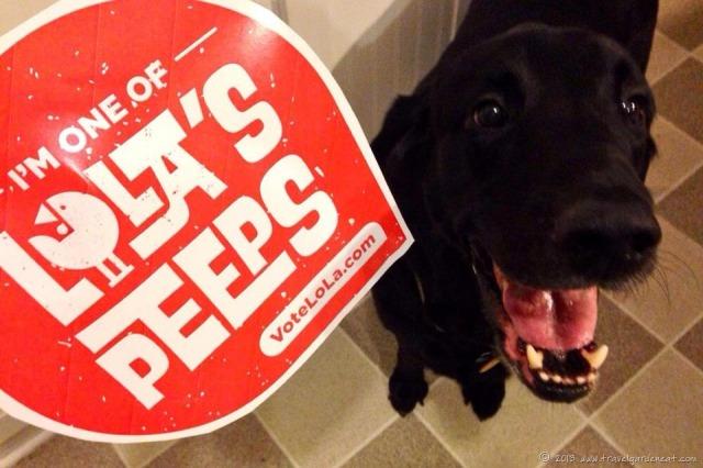 Dog peeps for LoLa!
