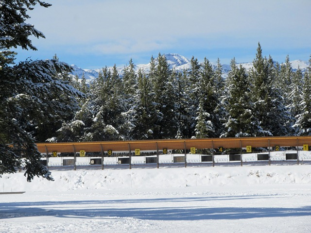 Rendezvous Trails biathlon range