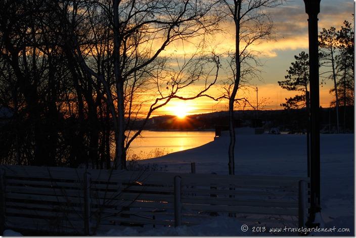 Sunset on Lake Superior, Duluth