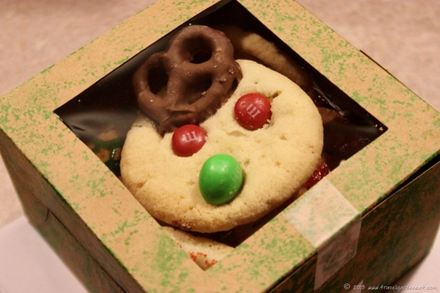 Boxed Reindeer Cookies