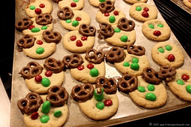 Antlerless Reindeer Cookies