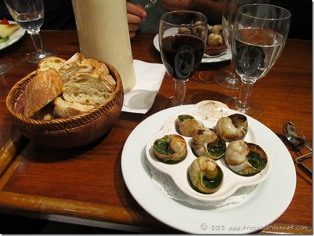 Escargot at La Jacobine
