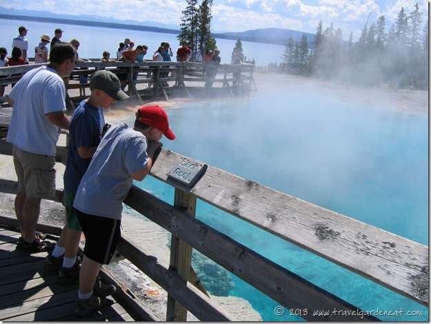 Black Pool, Yellowstone's West Thumb Geyser Basin