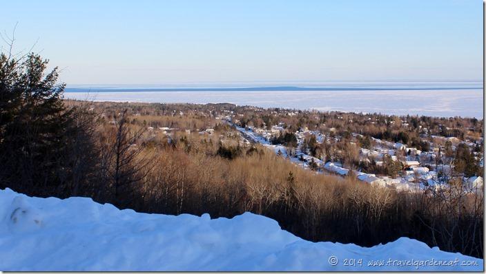 Winter view from Hawk Ridge ~ Duluth, MN