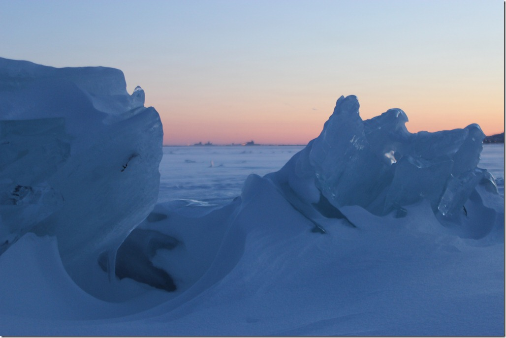 Lake Superior ice formations ~ Duluth, Minnesota