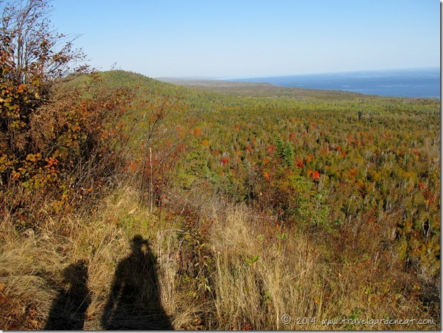 Fall colors from Oberg Mountain ~ Lake Superior, Minnesota