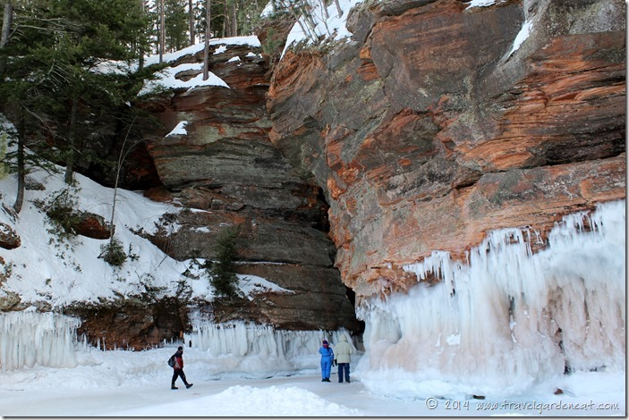 Apostle Islands Ice Caves ~ 3/1/14