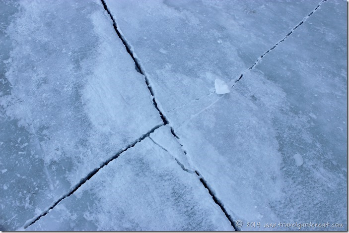 Lake Superior ice floor