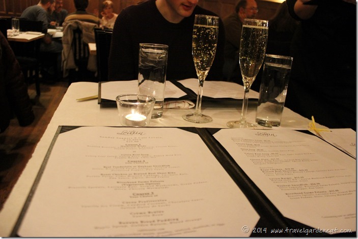 Sunday Suppers at Cafe Levain