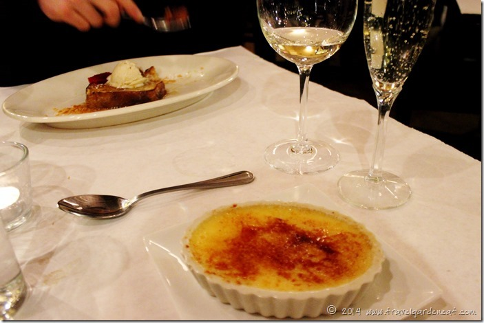 Creme Brulee at Cafe Levain