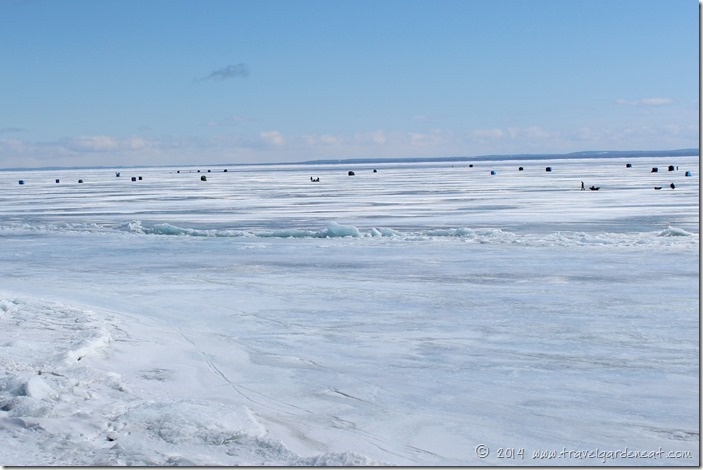 Duluth, Minnesota Ice Fishing
