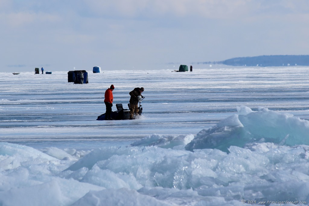 The ides of march on lake superior travel garden eat for Red lake ice fishing resorts