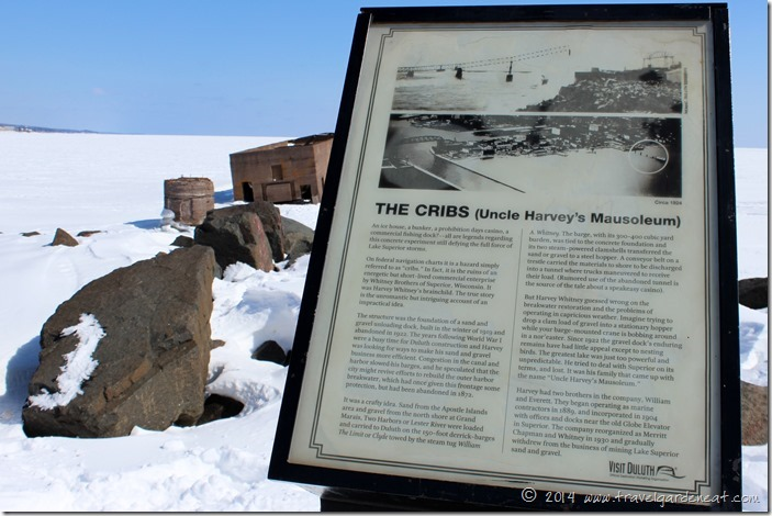 "The story behind ""The Cribs"" on Lake Superior"