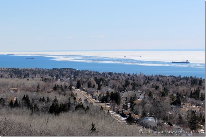 Lake Superior from Hawk Ridge