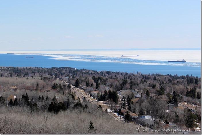 Lake Superior from Hawk Ridge