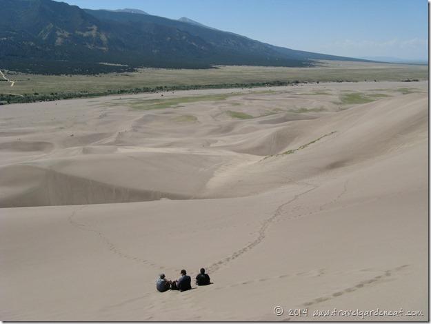 sand dunes hike 10 8_3_09