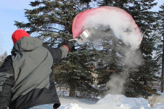 Sub-Zero Boiling Water Toss