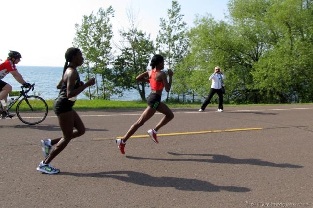 Grandma's Marathon racers