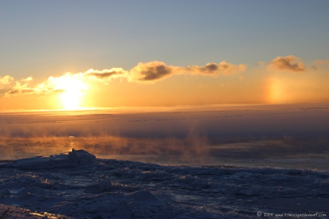 Sundog on Lake Superior