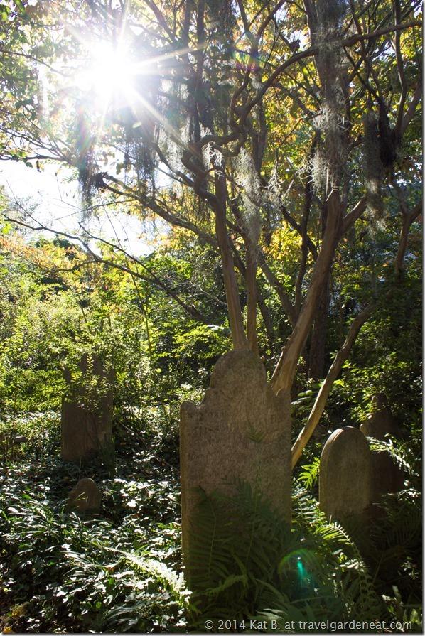 Charleston's Unitarian Cemetery
