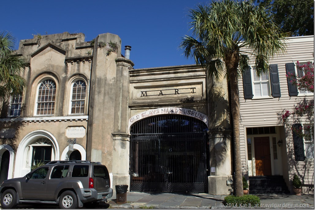 Charleston's Slave Mart Museum