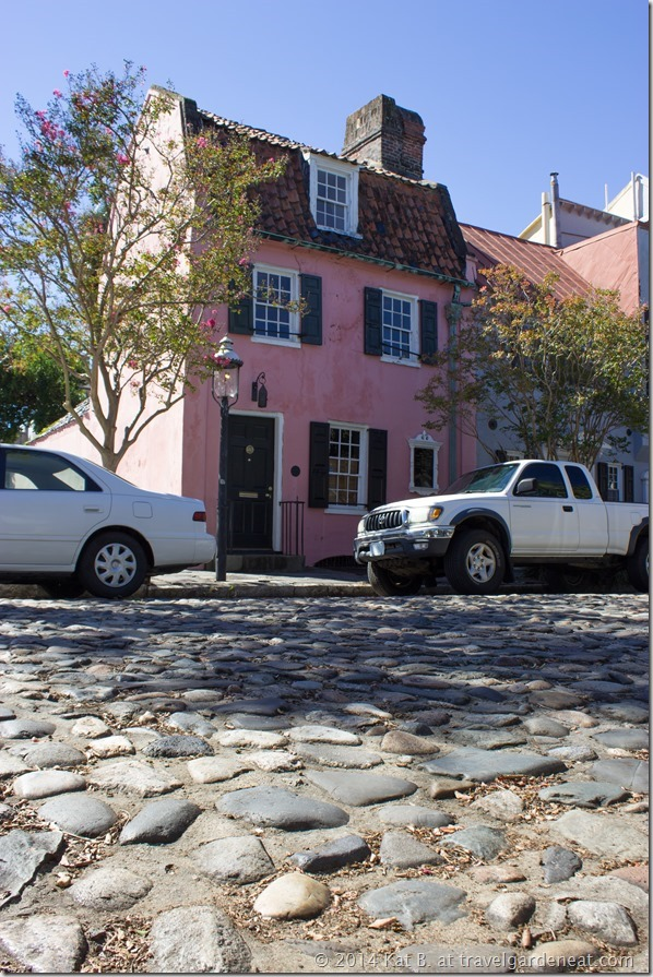 The Pink House on Chalmers Street ~ Charleston, SC