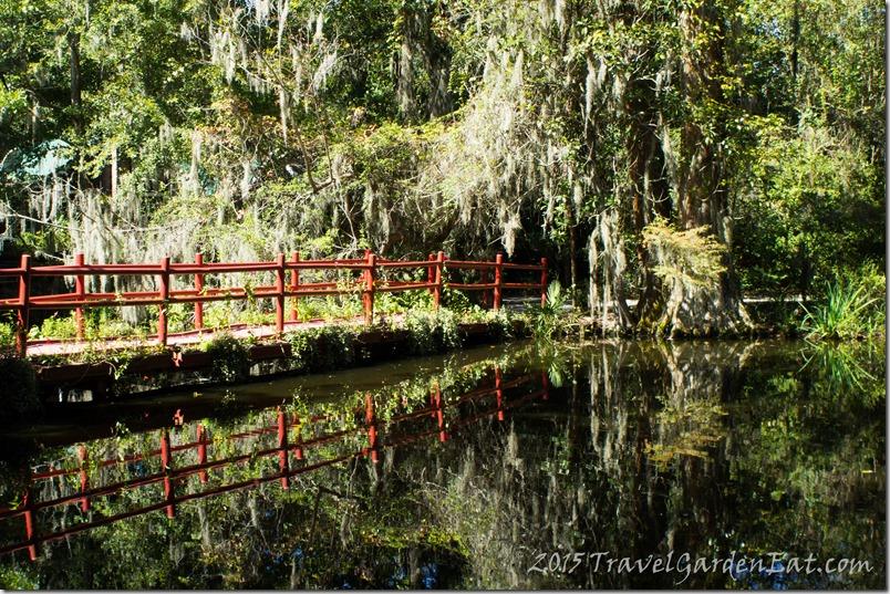 Red Bridge at Magnolia Plantation