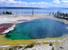 Yellowstone's Abyss Pool