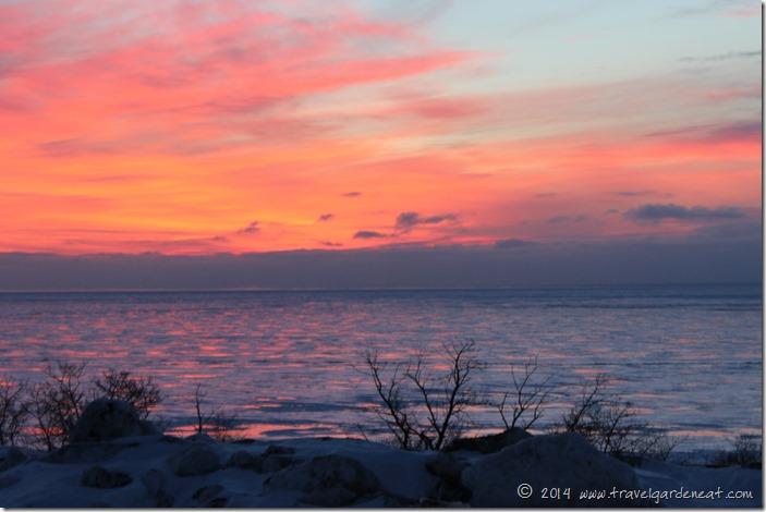 Winter Sunrise on Lake Sperior ~ Duluth, Minnesota