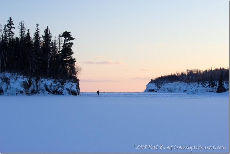Winter Sunset by Ellingson Island