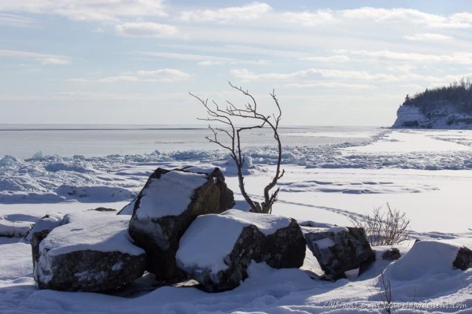 View from Split Rock's Ellingson Island