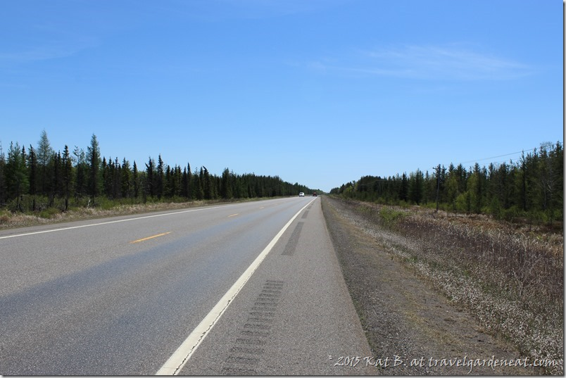 Highway 7 in Northern Minnesota -- the Road to Zim