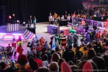 Mascot dance at Worlds