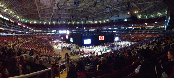 FIRST Worlds arena panorama 2015