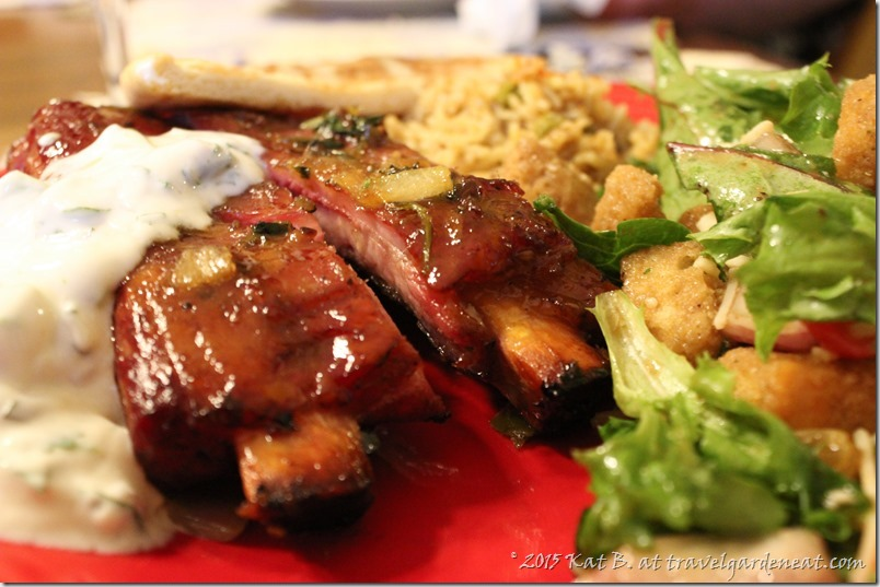 Fennel-Spiced Ribs with Onion Cilantro Tempering and Cucumber Raita