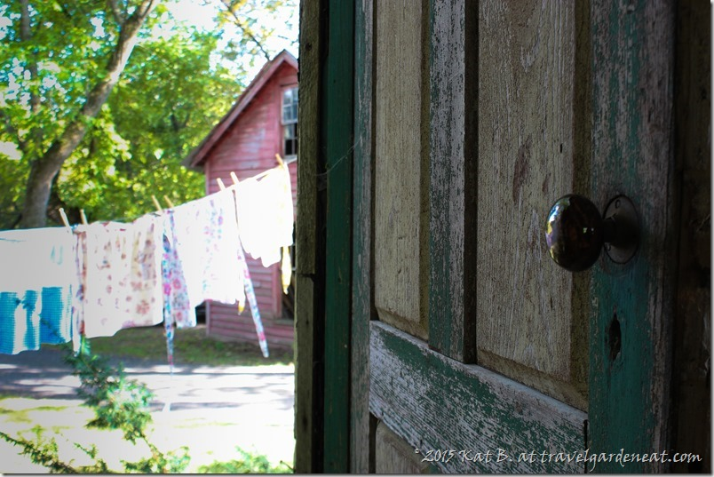 Doorway to charm at the Rustic Road 13 Pottery Event