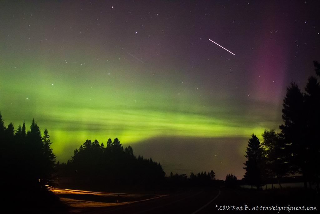 aurora borealis travel garden eat