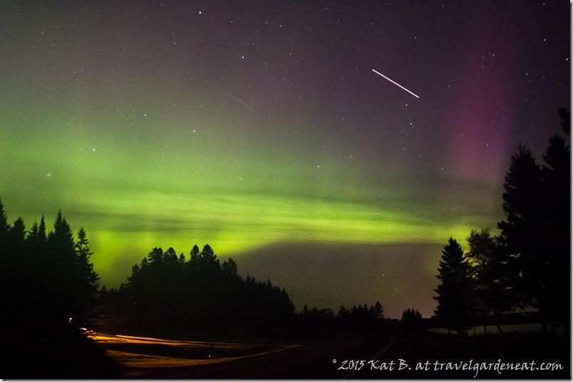 Northern Lights in the Minnesota Sky