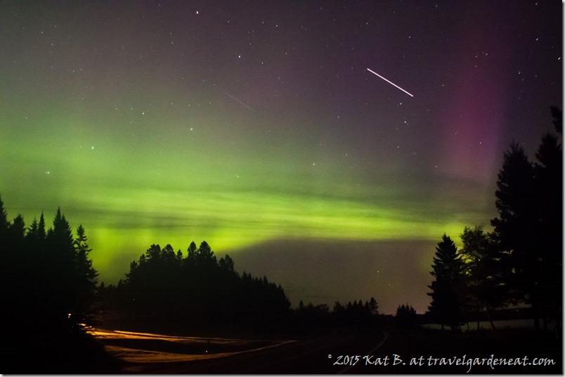Northern Lights in the Minnesota Sky