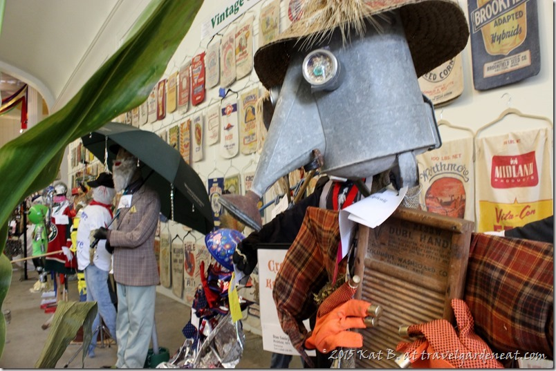 Scarecrows at the Minnesota State Fair