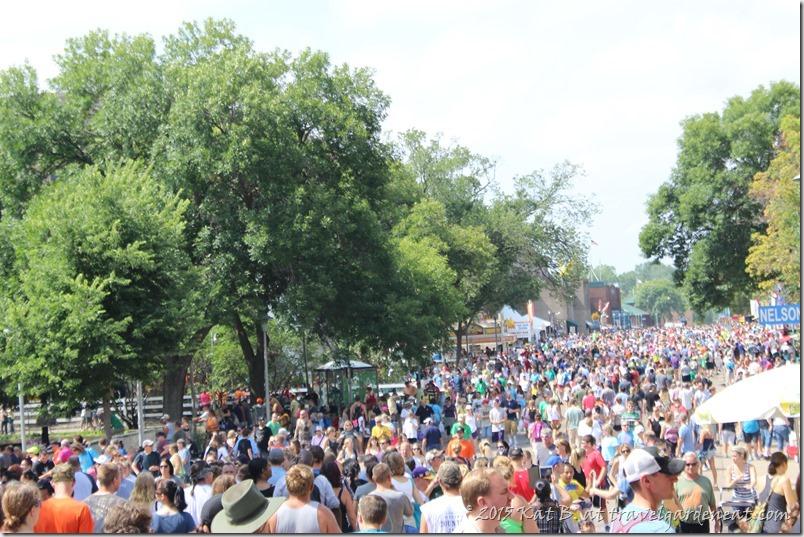 Minnesota State Fair crowds, 2014
