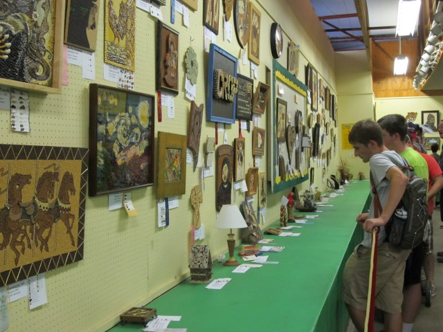 Minnesota State Fair Crop Art