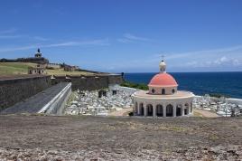 San Juan Cemetery next to El Morro