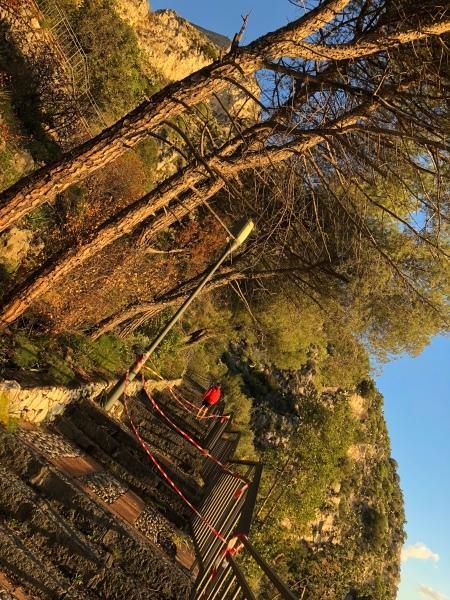 The Stairs to the Madonna Della Rocca church